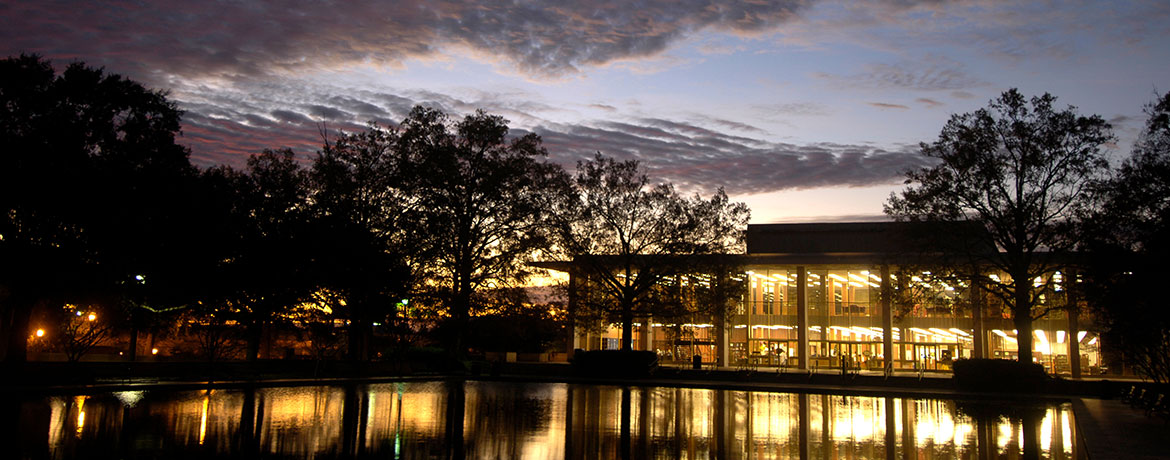 Thomas Cooper Library at Dawn